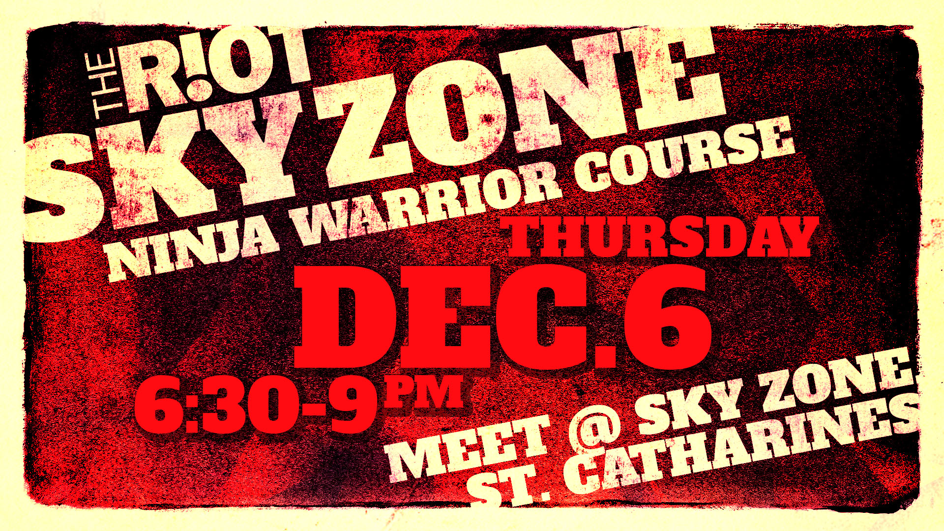 photograph about Printable Sky Zone Waiver titled Southridge Regional Church R!OT Skyzone Ninja System